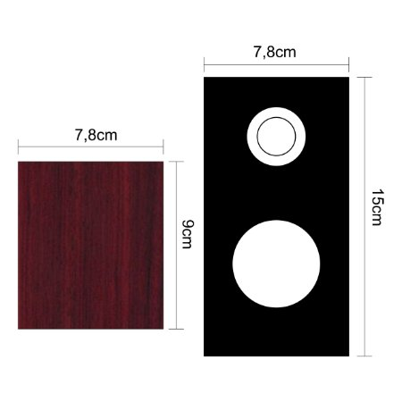 Caixa de Som Stereo de Alta Qualidade CX-04 TecDrive