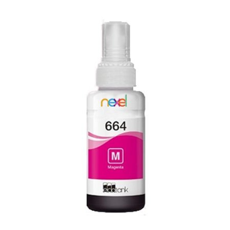 Tinta Corante Refil 100ml Impressora Jato de Tinta Magenta (Vermelho) Compatível Epson