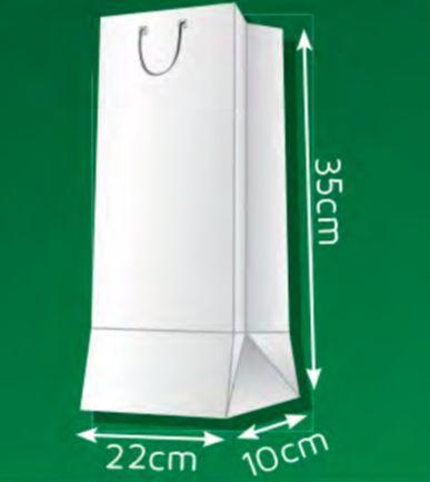 Sacola de Papel G2 - (LxAxP) 22 x 35 x 10 cm