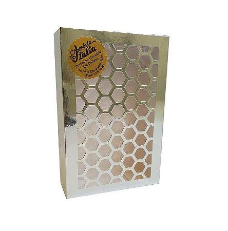 Caixinha de Bombons Truffados Recheio chocolate Branco - 449 g