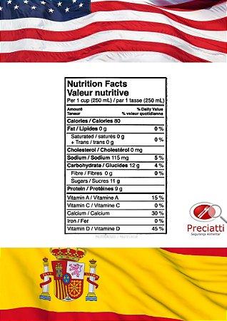 Informação Nutricional Padrão Internacional