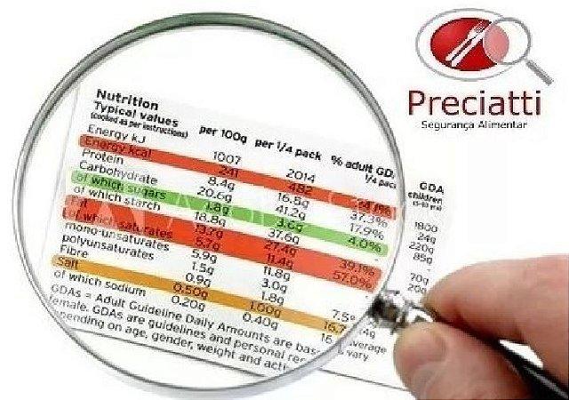 Informação Nutricional + Código de barras