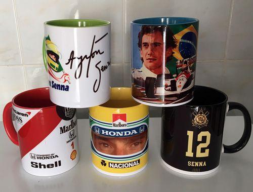 Canecas Ayrton Senna - Vários modelos