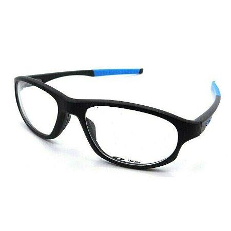 Armação Oakley Crosslink Preto Fosco/Azul