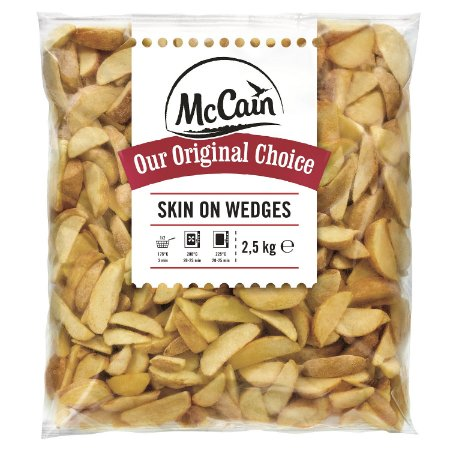 BATATA SKIN ON WEDGES/RÚSTICA - McCain (2,5Kg)