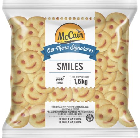 BATATA SMILES - McCain (1,5Kg)