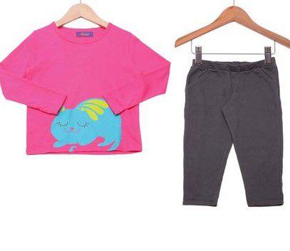 Pijama Infantil Gato Puket