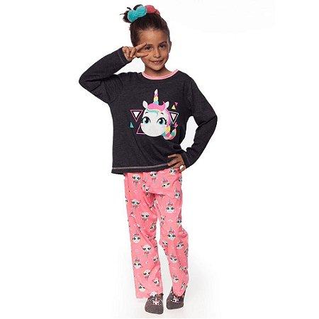 Pijama Infantil Unicórnio Puket