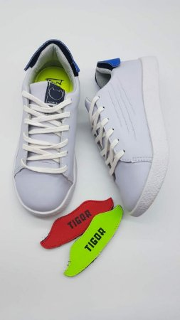 Tênis Tigor T. Tigre Branco Troca Enfeites