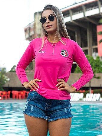 Camisa UV Feminina Cobra Coral