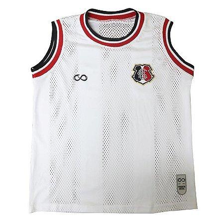 Camisa Regata Infantil Branca Santa Cruz