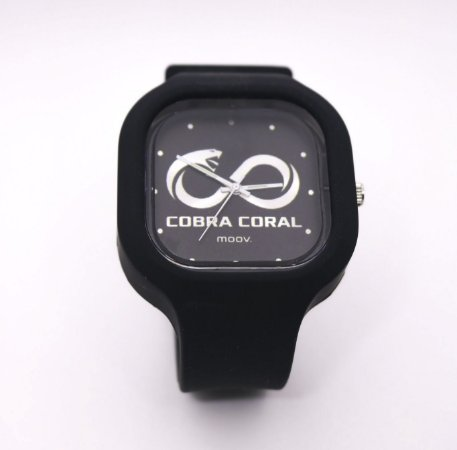 Relógio Cobra Coral Moov