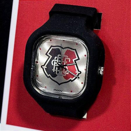 Relógio Oficial Santa Cruz Moov Escudo Preto