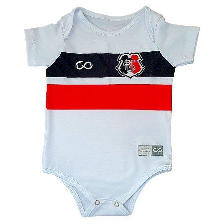 Body Infantil Santa Cruz Branco Slim