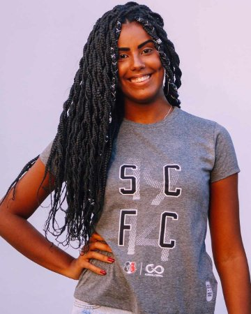 Camiseta 1914 SCFC Cinza Feminina