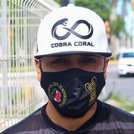 Boné Branco Cobra Coral Slim Aba Reta