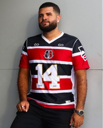 Camisa Cobra Coral Santa Cruz 2021 Futebol Americano