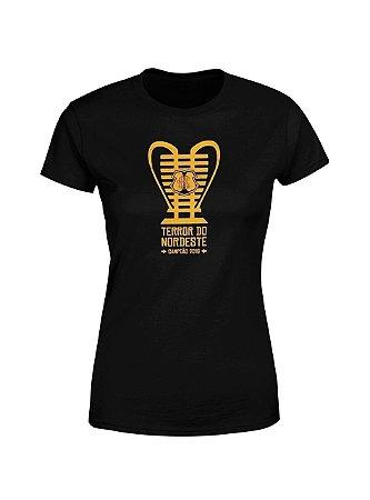 Camisa Casual Copa do Nordeste Feminina