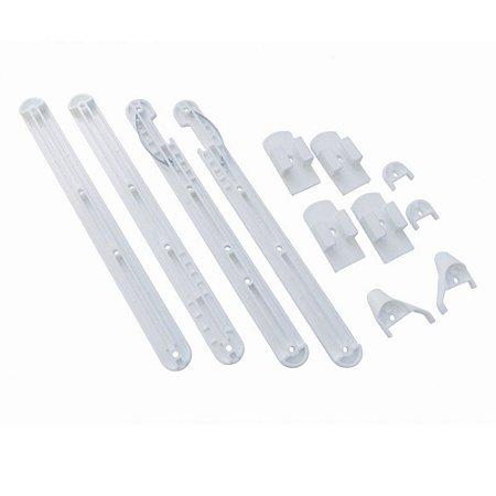 Kit regulador para grade de Berço Branco - BigFer