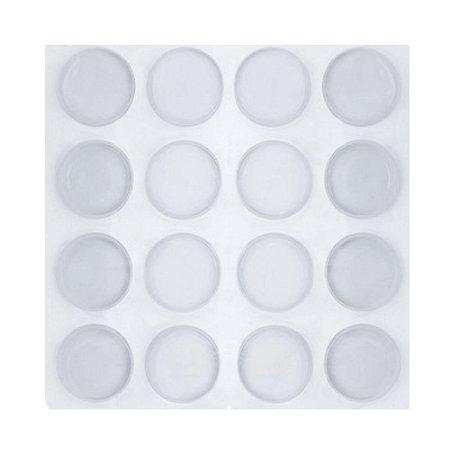 Protetor Batente Silicone 13mm Cartela com 25 unidades (gotas)