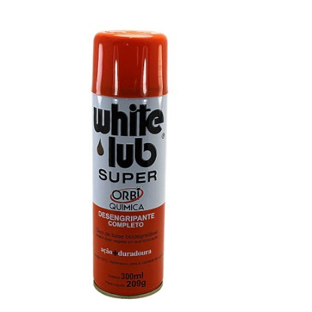 Desengripante White Lub Super Spray 300 Ml Anti Ferrugem