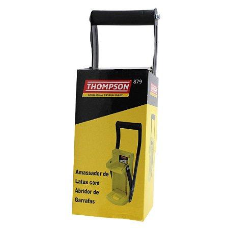 Amassador Latas Alumínio 350 Ml Com Abridor de Garrafas - Thompson