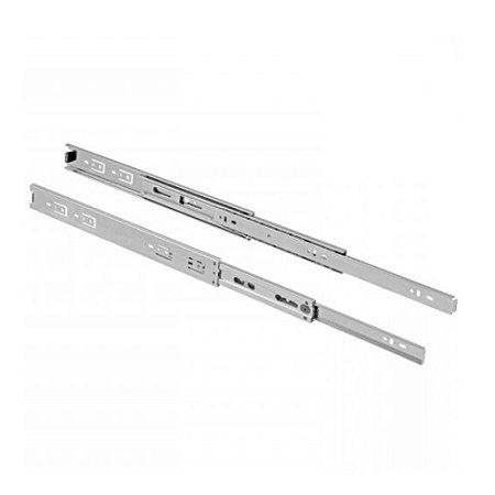 Par Corrediça Telescópica Light Trilho para Gaveta 25cm - DMT