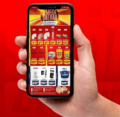 Kit Digital = 10 Artes para Mídias Digitais + Loja com 50 Produtos no Facebook & Instagram + Catalogo & Loja Whatsapp + Monitoramento de Desempenho e Concorrência + Site Personalizado e Atualizado Mensalmente