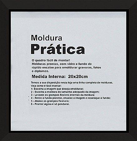 MOLDURA PRÁTICA 20x20CM