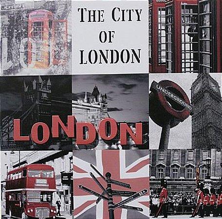 TELA DE CANVAS COLLECTION ENGLAND - THE CITY OF LONDON