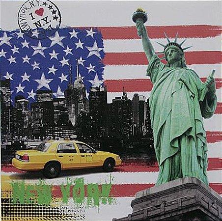 TELA DE CANVAS COLLECTION NY - STATE
