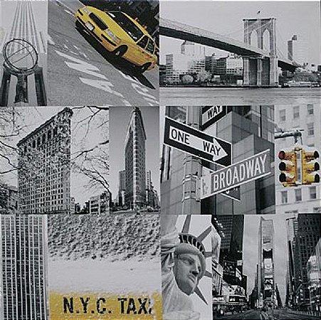 TELA DE CANVAS COLLECTION NY - N.Y.C TAXI
