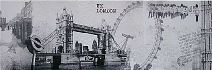 TELA DE CANVAS UK - LONDON