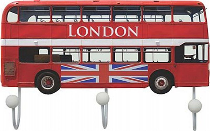 CABIDEIRO LONDON BUS 17X26CM