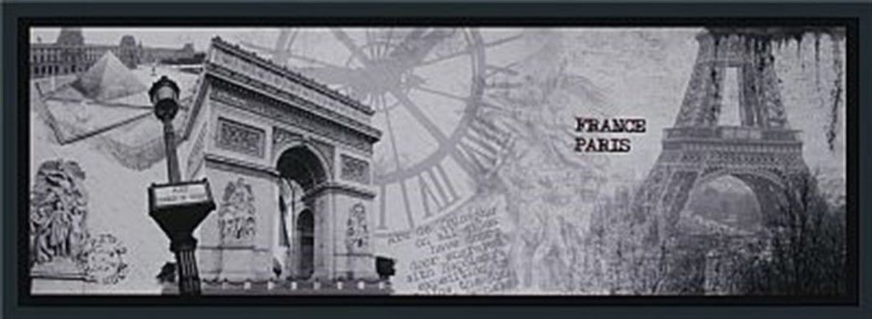 TELA DE CANVAS COM MOLDURA FRANCE - PARIS