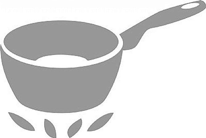 DECOR STICKER FRYING PAN