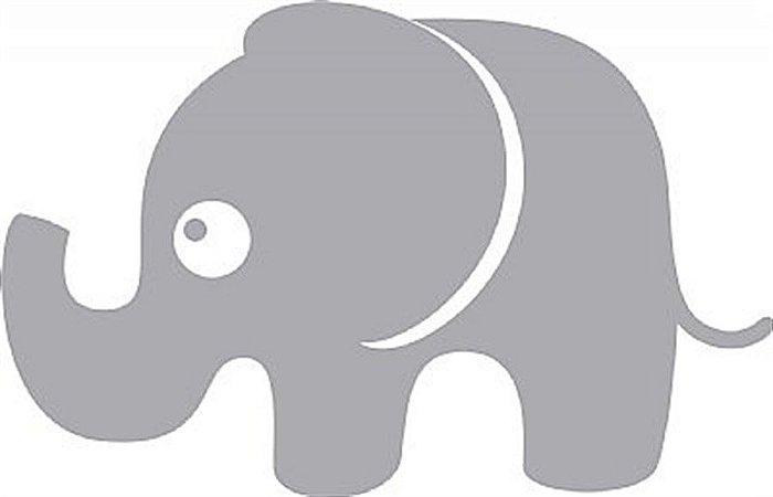 DECOR STICKER ELEPHANT