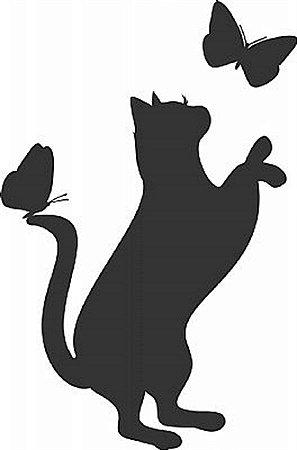 DECOR STICKER LITTLE CAT