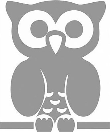 DECOR STICKER OWL