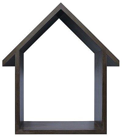 NICHO NATURAL COM TELHADO HOME SWEET HOME 23X33CM
