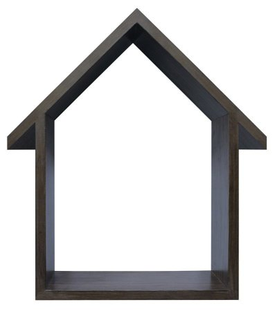 NICHO NATURAL COM TELHADO HOME SWEET HOME 33X48CM