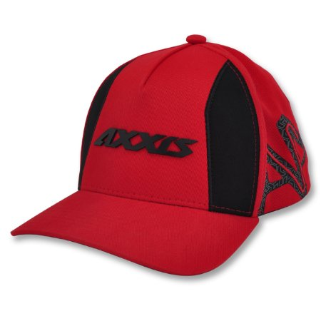 Boné Axxis Draken Dekers Red Black