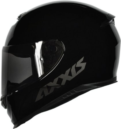 CAPACETE AXXIS EAGLE SOLID/MONOCOLOR GLOSS BLACK/GREY