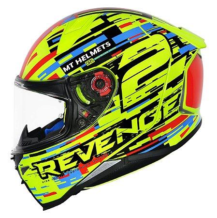Capacete MT Revenge 2 Baye Yellow