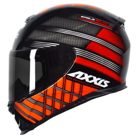Capacete Axxis Eagle Evo Gloss Black Red