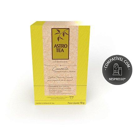Chá Astro Tea Cápsulas Camomila 10 unidades