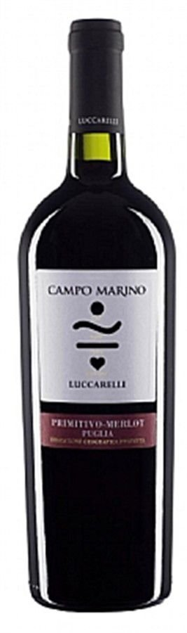Luccarelli Campo Marino Primitivo Merlot IGP - 750ml