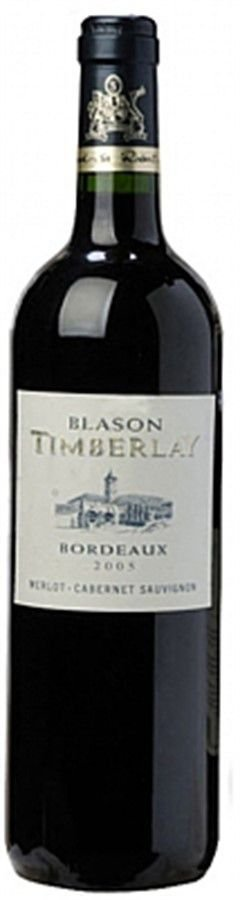 Blason Timberlay Merlot Cabernet Sauvignon - 750ml