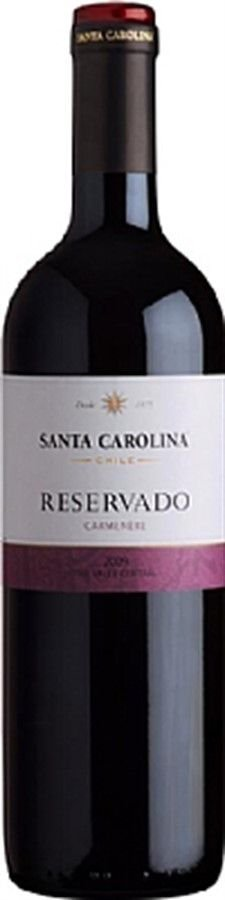 Santa Carolina Reservado Carmenere - 750ml