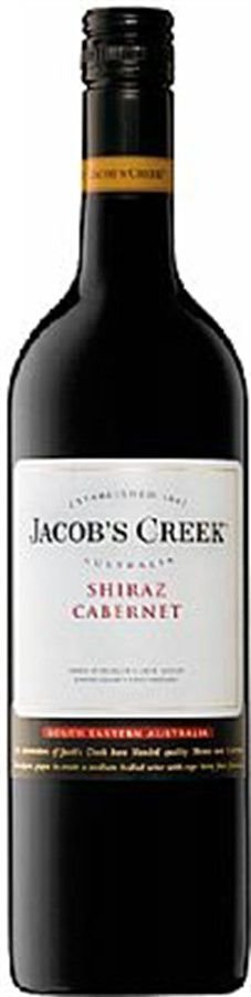 Jacobs Creek Shiraz Cabernet Sauvignon - 750ml